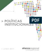 Politicas Institucionales de La Alianza Regional Aprobado 2011
