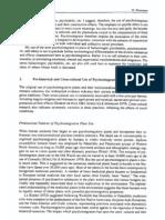 Winkelman - Pre-Historical and Cross-cultural Use of Psychointegrative Plants