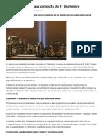 Le Vrai Et Tous Les Faux Complots Du 11 Septembre PDF