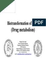 Lesson 3 Jezko Biotransformation of Drugs