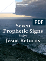 Seven Prophetic Signs Before Jesus Returns