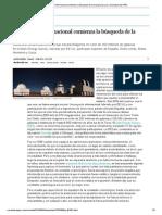 Un proyecto internacional comienza la búsqueda de la energía oscura _ Sociedad _ EL PAÍS