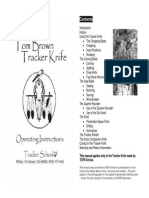Tracker Knife Manual