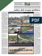 Los marginados del mapa político