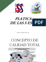Platica Sistema 5's