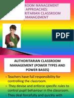 Authoritarian Classroom