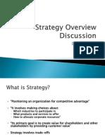 Business Strategy Overviekw Slides