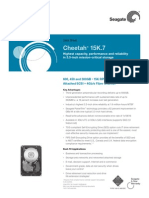 Cheetah 15k.7 Ds1677.3 1007us SAS Datasheet Specifications