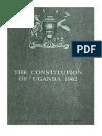 Uganda Constitution 1962