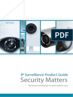DLink IP Surveillance Product Guide April 2013 Light
