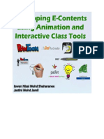 Web 2.0 Animation and Interactive Class Tools