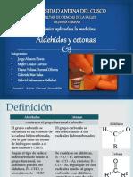Aldehido y Cetona