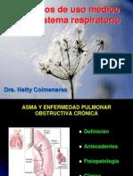 Fármacos de uso médico en el sistema respiratorio