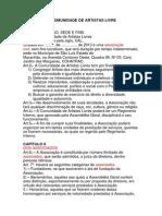 ESTATUTO DA COMUNIDADE DE ARTISTAS LIVRE.docx