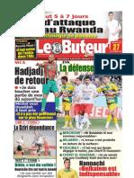 LE BUTEUR PDF du 27/09/2009