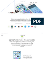 Apple - iOS 7 - Features