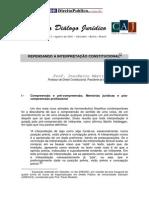 Dialogo Juridico 05 Agosto 2001 Inocencio Martires Coelho