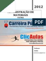 Administracao de Materiais - FATMA - Professor Zeidan