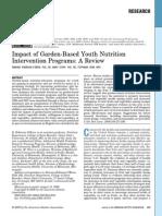 Garden Based Nutrition Study