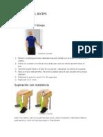 Protocolo Dem Ejercicos Para Tendinitis Del Biceps y Manguito Rotador