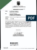 Proyecto Ley Organica de Comunicacion