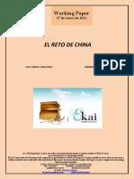 EL RETO DE CHINA (Es) THE CHINESE CHALLENGE (Es) TXINAREN ERRONKA (Es)