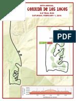 Corrida de los Locos - Map