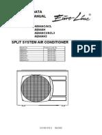Air Conditioning Euroline Service Manual Th AE64AC AH ACL