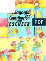 Pedagogia de La Contribucion[1]