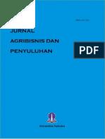 Jurnal Agribisnis Dan Penyuluhan