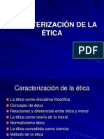 Caracterizacion de Etica