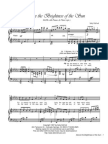 Above the Brightness of the Sun Satb With Piano and Flute