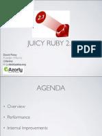 Juicy Ruby 2.1