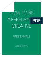 How to Be a Freelance Creative - Jonny Elwyn_Free Sample