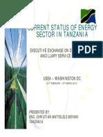 Tanzania Power Sector