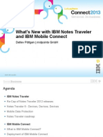 What's New With IBM Notes Traveler and IBM Mobile Connect
