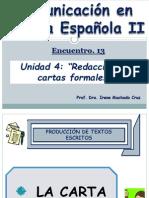 COMUNIC LENGUA ESPAÑOLA II - Encuentro 13 A