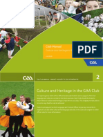 culture and heritage in the gaa club