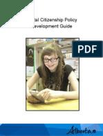 digital citizenship policy development guide