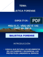 Balistica Forense - Experto