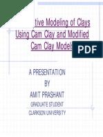 Cam Clay Presentation