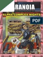 Paranoia XP - Alpha Complex Nights