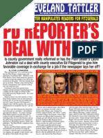 EC Tattler #30 - Plain Dealer Reporter's Job Deal With Ed Fitzgerald