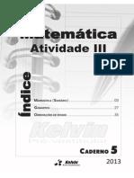 Caderno 05 - Matematica