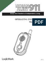 GA911 instructions v7-1 ENGLISH