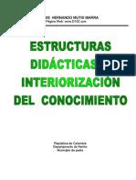 Estructuras didácticas e interiorización del conocimiento