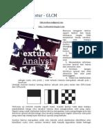 Analisis Tekstur Citra Dengan Teknik GLCM
