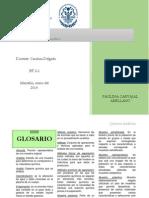 Quimica Analítica. Glosario.
