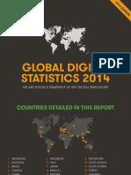 GLOBAL DIGITAL STATISTICS 2014 _ we are social's snapshot of key digital indicators_