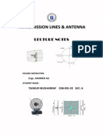 Transmission Line Theory - Notes